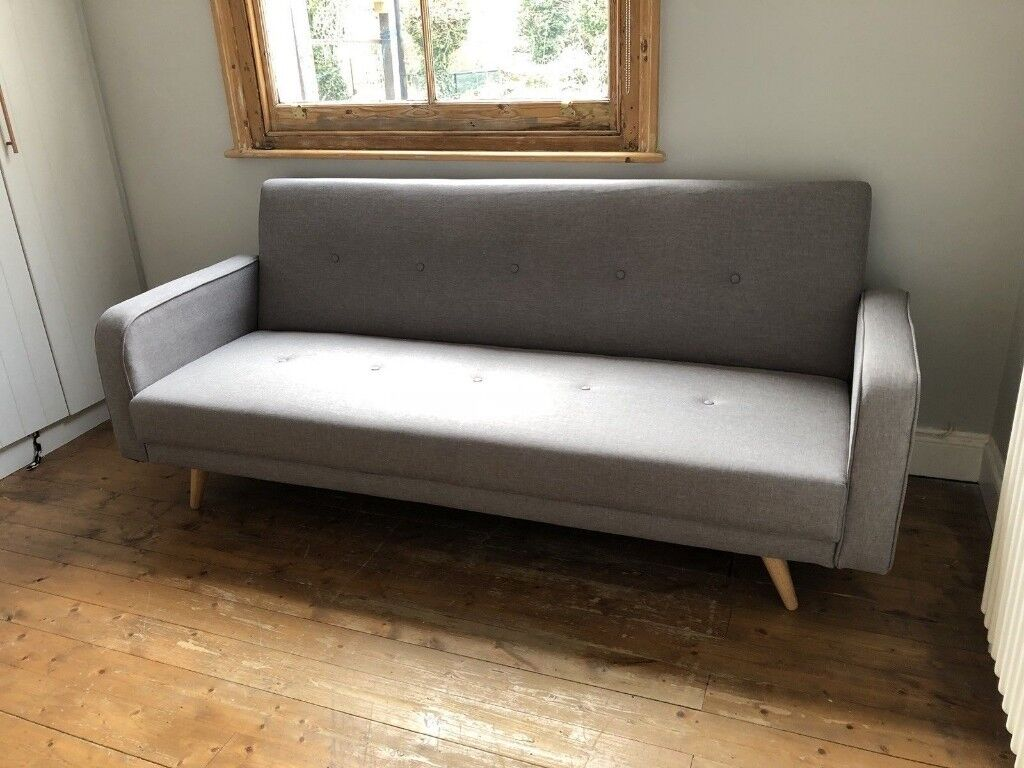 maison du monde broadway 3 seater sofa bed barely used in hackney london gumtree. Black Bedroom Furniture Sets. Home Design Ideas