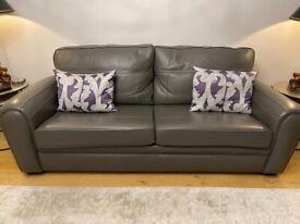 Duresta sofa, chair & foot stool