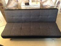 Dark Grey Double Sofa Bed
