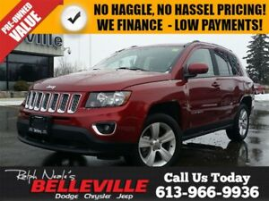 2016 Jeep Compass High Altitude-Sunroof, Heated Seats