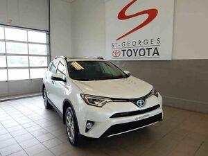 2016 Toyota RAV4 AWD Limited Hybride