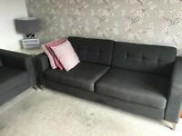 2and3 grey sofas