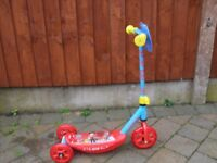 Paw Patrol scooter. As new condition