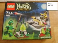 lego monster fighters all complete except 1 fish collection from didcot