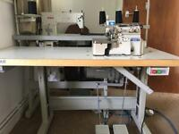 2 industrial sewing machines