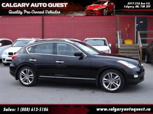 2013 Infiniti EX37 Luxury AWD/NAVI/B.CAM/LEATHER/ROOF