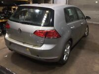 VW GOLF MK7 1.4 TFSI BREAKING FOR PARTS