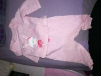 bundle of babygirl clothes