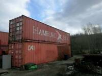 40ft shipping container choice of 2
