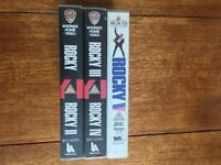 Rocky VHS Collection Set