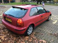 Honda Civic Ej9 1.4 long MOT