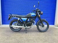 2017 BULLET HUNT 125 CAFE RACER , STUNNING CONDITION , HPI CLEAR , LOW MILES , FULLY SERVICED
