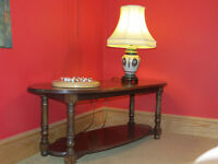 SOLID MAHOGANY coffee table by BRENT THOMSON CABINET MAKER