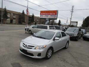 2013 Toyota Corolla CE, OFF LEASE from Toyota Finance, ONE OWNER