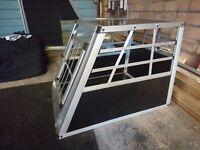 Heavy Duty Dog Sloping Dog Crate - Small/Medium