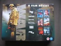 6 War Film Boxset – Brand New