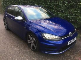 VW Volkswagon Golf R DSG Gearbox - Blue - 2015