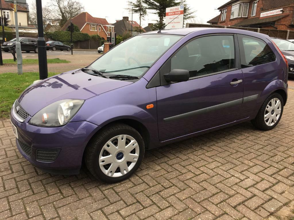 ford fiesta style 1 2 2007 mauve purple low miles 3 doors. Black Bedroom Furniture Sets. Home Design Ideas