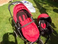 Grace Evo Travel System: buggy, car seat, carrycot