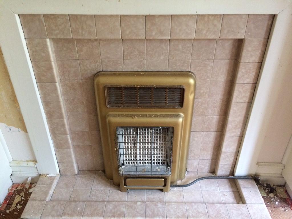 Original gas fire and surround x 2
