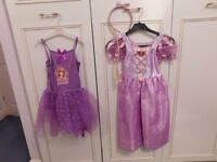 Rappunzel, Sofia the First, fairy and ballerina dressing up outfits