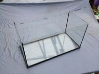 """GOLDFISH / REPTILE TANK, 12x12x24"""" (300x300x600mm) good used condition, cleaned and ready for use,"""