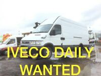 WANTED IVECO DAILY VAN