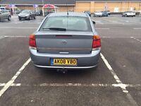 Vauxhall Vectra 08 low miles