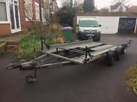 Ifor Williams car transport trailer CT136HD