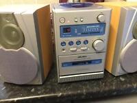 Small cd music midi system