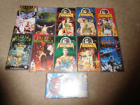 Job Lot of 11 Manga Anime VHS Video Cassettes Crying Freeman,Wicked City,Doomed Megalopolis etc