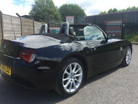 BMW Z4 2.5i FACELIFT CONVERTIBLE BLACK ROADSTER LOW MILES 6 SPEED 2006 SERVICE HISTORY