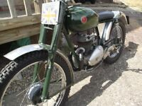 1957 Francis Barnett 197 trials bike restored 6/7 years ago part exchange delivery possible