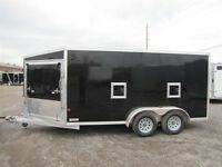2015 Mission Trailers 7'x19' ALL ALUMINUM SLED TRAILER