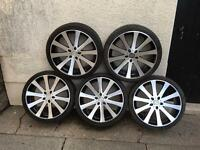 VW T4 Alloy Wheels & Tyres