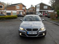 SWAPS VW GOLF OR SELL BMW 3 SERIES 3 LITRE 6 SPEED DIESEL 1 DRIVER FROM NEW 2009 NICE CAR