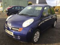 2004 Nissan micra 1.2 with mot November price reduced cookstown