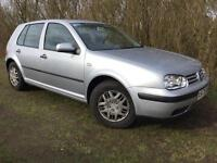 AUTOMATIC VW GOLF - 1 YEARS MOT - 4 NEW TYRES - JUST SERVICED