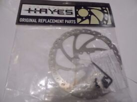BRAKE DISC ROTOR HAYES V8 OEM NEW. MTB, MOUNTAIN BIKE.