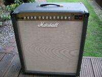 "Marshall JTM60 all valve 1 x 15"" 60watt electric guitar amplifier. - England - '95-'97"