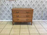 Chest of drawers Oak Louis XV,French style