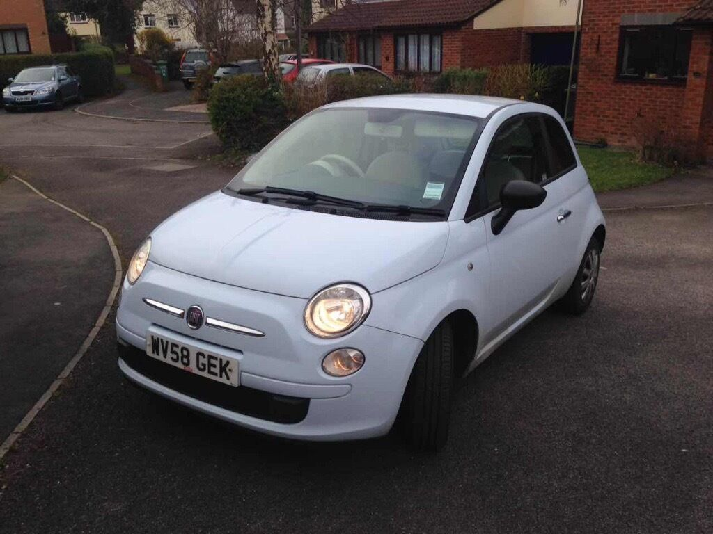 FIAT 500 POP, Baby blue, Petrol *38,500 miles* 2008 (58) | in Stoke