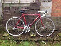DAWES 300 - Alloy frame, Sacco brakes, Shimano 105 gears -Road bike