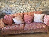 Excellent quality sofa & two chairs