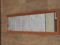 Pine mirror suitable for hallway (Delivery)