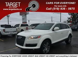 2009 Audi Q7 3.6 Loaded; Pano Roof, Leather Drives Great !!!