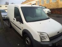 FORD TRANSIT CONNECT VAN 1.8TDCI 2005/55REG 112K £1199