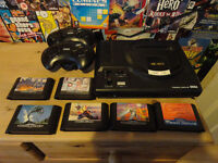 Sega Mega Drive Console 2 Pads All Leads and 11 games Still listed its still available