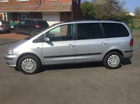 Seat Alhambra 1.9 tdi 2006 06 plate 6 speed manual full service history 1 owner from new mot