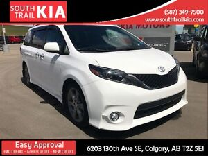 2015 Toyota Sienna SE LEATHER ALLOY WHEELS BLUE TOOTH